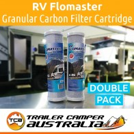 2X RV Flomaster Granular Carbon Filter Cartridge