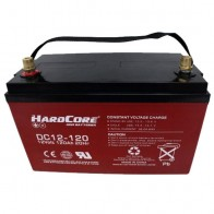 HardCore 120AH 12V Deep Cycle AGM Battery DC12-120