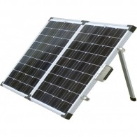 Solarking Portable 120W Folding Solar Panel Mppt Controller Anderson adaptor & carry bag