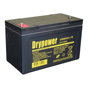 Drypower 120Ah AGM Deep Cycle Battery 12SB120CL-FR
