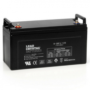 132AH 12V Lead Crystal Battery 6-CNFJ-120