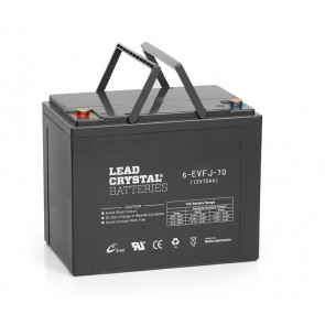 12V Lead Crystal Battery 6-EVFJ-70 Deep Cycle