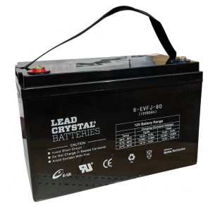 103Ah 12V Lead Crystal Battery 6-EVFJ-80