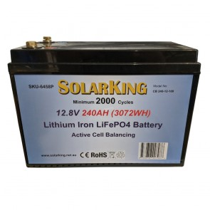 Solarking 240Ah 12V Lithium Battery LiFePo4