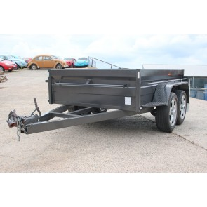 8x5 Tandem Axle Trailer with 500mm high sides - 2 Tonne GVM