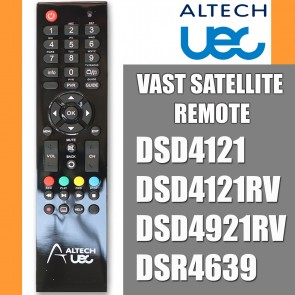 Altech UEC Remote Control Vast Satellite Receiver