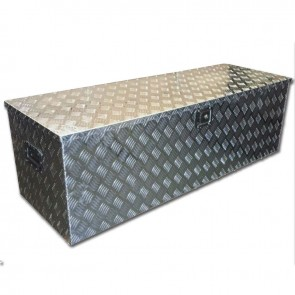 STB Lockable Aluminium Tool Box 1230 x 380x 380mm - Camper Box Trailer