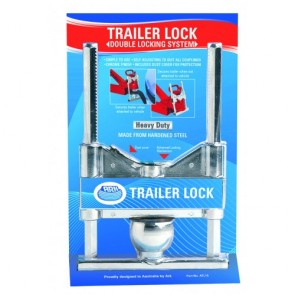 ARK ATL15 Chrome Towball Lock Dual Locking Mechanism