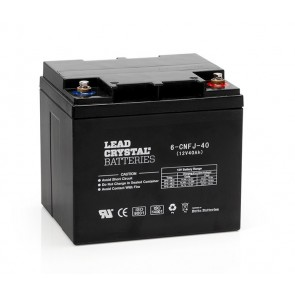 12V Lead Crystal Battery 6-CNFJ-40 Deep Cycle