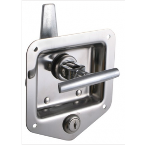 Ark T-Handle Flush Locking Stainless Steel Door Latch TL120Z