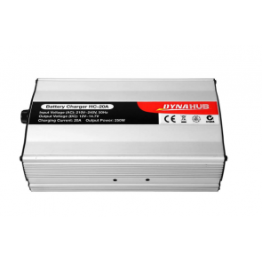 240V 12V 20 Amp Multi Stage Battery Charger