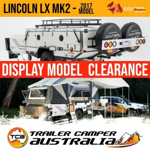 Ezytrail Lincoln LX MK2 Hard Floor Camper Trailer