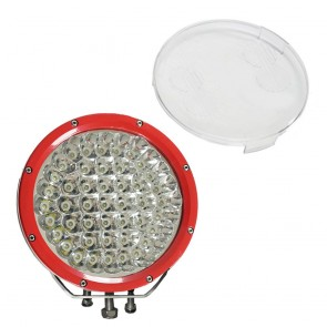 Pair 9 inch 315w CREE LED Driving Lights RED