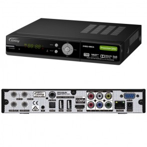 Satking Vast PVR DVBS2-980CA Twin Tuner with rear