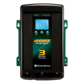 Enerdrive Epower 40amp 12v Battery Charger