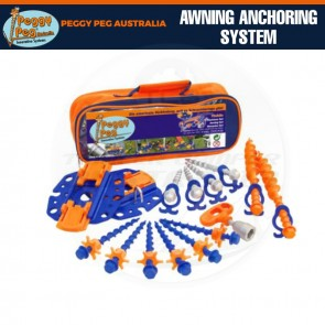 Peggy Peg Fix & Go Awning Anchoring System Kit