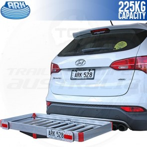 Ark HCC125D Hitch Receiver Mounted Cargo Carrier
