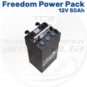 12V 50Ah Lithium Freedom Power Pack Portable Battery