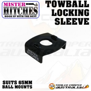 MISTER HITCHES Tow Ball Locking Sleeve 65mm