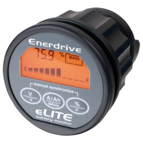 Enerdrive eLITE 12V/24V Battery Monitor EN55010 12v - 24v inc 500amp shunt
