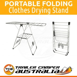 Portable Folding Clothes Drying Stand