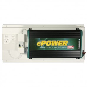 RCD & GPO Inverter Kit with ePOWER 12V 2000W