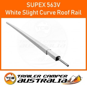 Supex Slight Curve Roof Rail White
