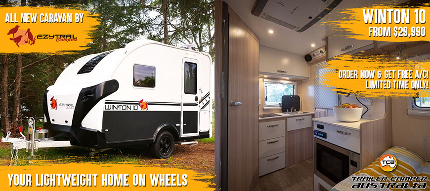Your lightweight home on wheels.