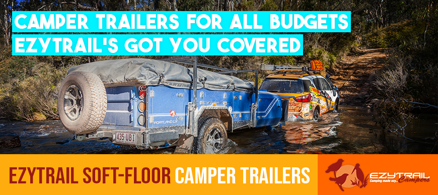 Ezytrail Soft Floor Camper Trailers