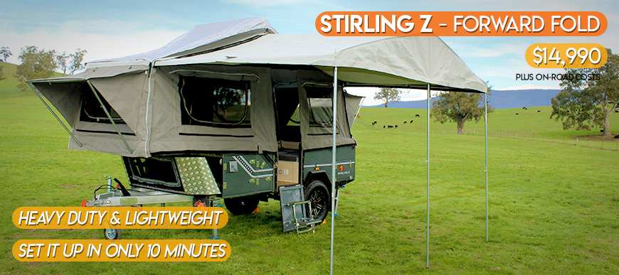 Stirling Z Camper Trailer