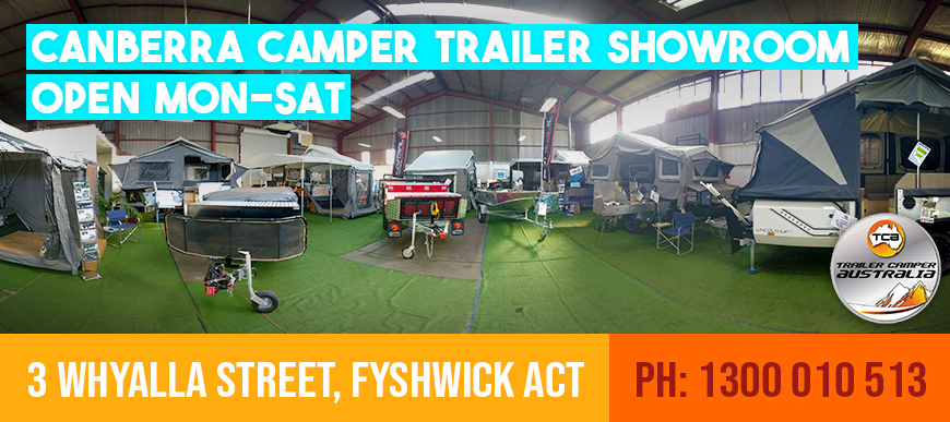 Trailer Camper Australia Showroom