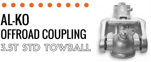 Alko 3.5T Off Road Ball Coupling