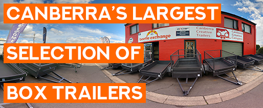 Canberra's Largest Selection of Box Trailers