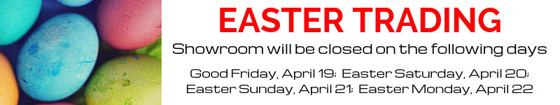 EASTER TRADING - CLOSED APRIL 19 - 22