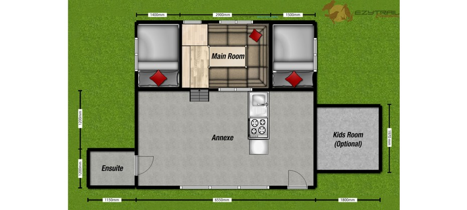 Ezytrail Lincoln Z Floor Plan