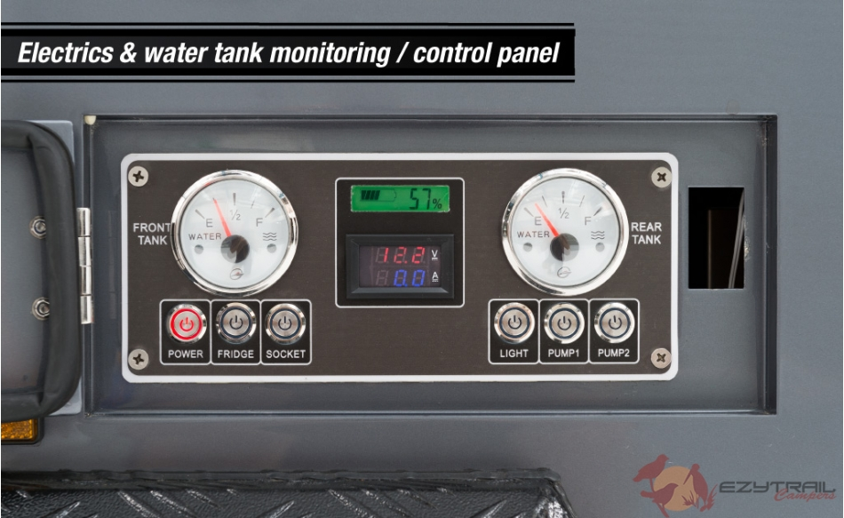 Ezytrail Stirling GT MK2 Control Panel