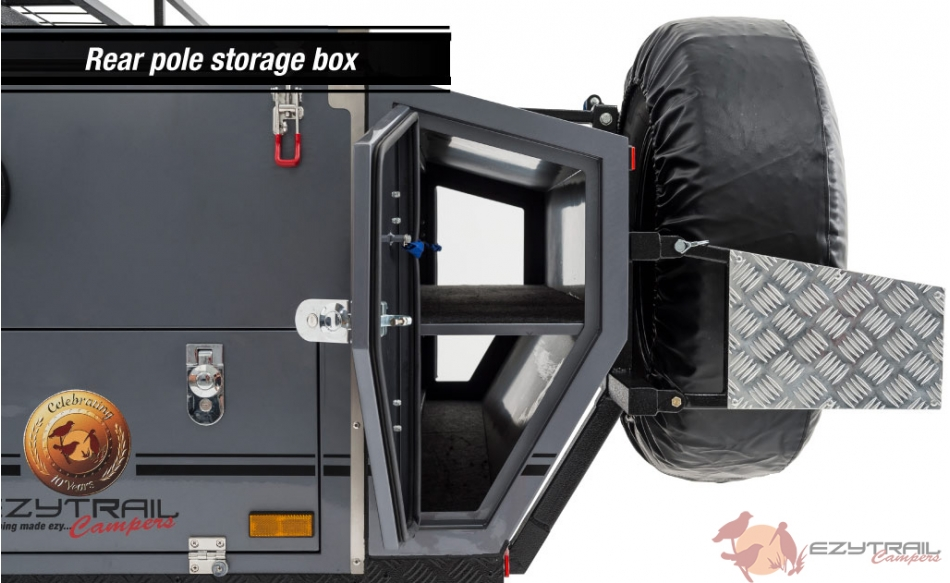 Ezytrail Stirling GT MK2 Rear Storage