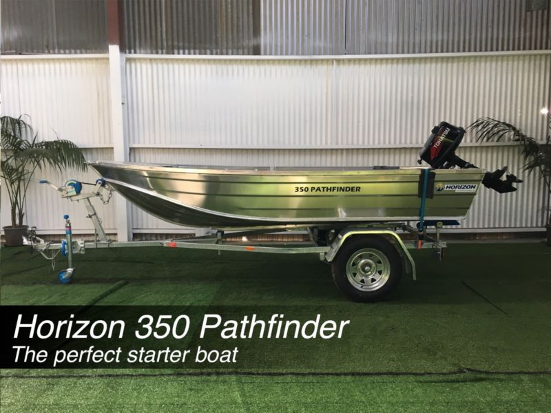 Horizon 350 Pathfinder Tinnie Package