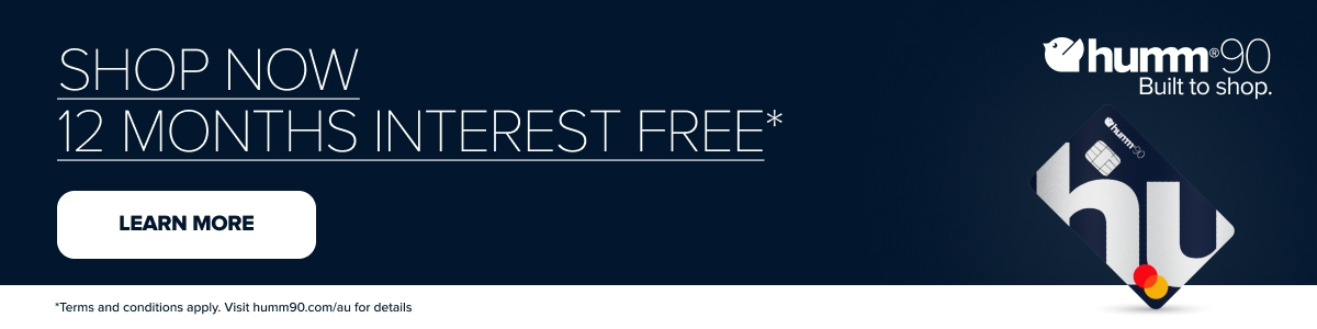 12 months interest free with humm90