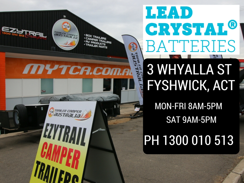 Alpha Energy Lead Crystal Batteries Canberra