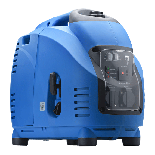 This portable, lightweight generator is ideal for powering high drain or multiple electrical items at once.